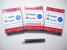 18 x Pilot IC-50 Namiki Fountain Pen Ink Cartridges 78G Prera, Blue (3 Boxes)