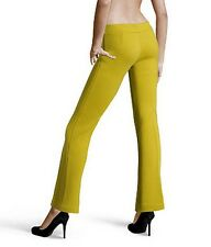 L'AUTRE CHOSE Made in Italy yellow trousers pants pantaloni donna lana 40 IT NWT
