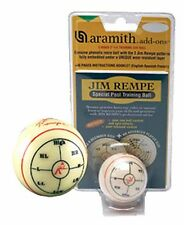 Aramith Jim Rempe Special Training Pool Cue Ball - Billiard Training Ball Tool