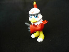 Digimon Mini Figure Hawkmon Red Bird Hawk Creature Toy Anime Bandai 1.5""