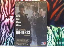 Coffret DVD d'occasion excellent état comme neuf : LES INFILTRES - Dicaprio -