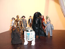 ORIGINAL Vintage Star Wars 1977 Action Figures