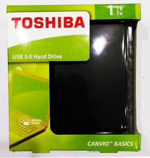 TOSHIBA 1TB Canvio Basics Portable USB 3.0 External Hard Drive
