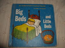 Big Beds and Little Beds An EARLY-START Preschool Reader 33-word Vocabulary 1965