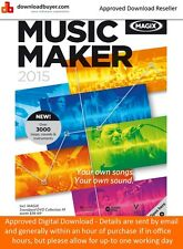 Magix Music Maker 2015 - for Windows - (Approved Digital Download)