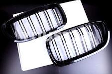 GLOSS BLACK M5 STYLE KIDNEY GRILLS BMW 5 SERIES F10 F11 F18 520 523 528 530 535