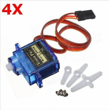 4 X TowerPro SG90 Mini Gear Micro 9g Analog Servo