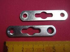 """4 attaches """"invisibles""""  53 par 12 mm (réf C2)  étagère , meuble, ..."""