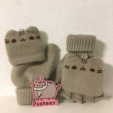 Pusheen Cat Subscription Box 2WAY Fingerless Gloves Mittens Kawaii Winter 2016