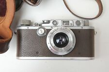 leica iiia rangefinder camera with Leitz summaron 35mm f3.5 & original case