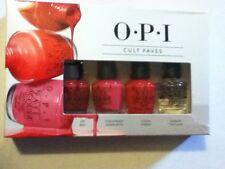 OPI Cult Faves 4 pc Mini Nail Lacquer Polish Set Boxed