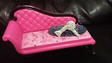 Swarovski Crystals & HAIR DRYER Jewelry BARRETTE Clear/Blue LOVE YOUR HAIR!
