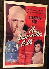 INSPECTOR CALLS 1sh '55 Alastair Sim stars in J.B. Priestly's famous Story