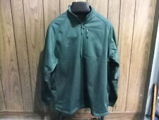 Nike Golf Therma-Fit jacket coat fleece pull over dark green medium