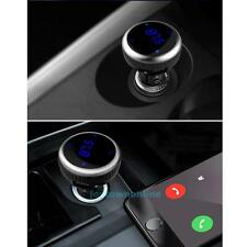 USB Charger Bluetooth LCD Car Kit MP3 Player Handsfree Wireless FM Transmitter