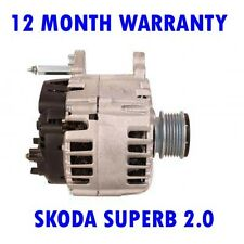 SKODA SUPERB 2.0 2008 2009 2010 2011 2012 2013 2014 2015 RMFD ALTERNATOR
