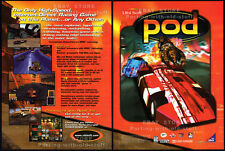 POD / 3Dfx__Original 1997 Print AD / game promo__Ubi Soft  advertisement__Win 95