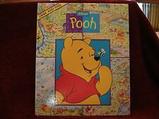 "Walt Disney Co Winnie-the-Pooh Look and Find Vol. 1 Childrens Book 12""x10"" HC"