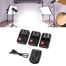 PT-04 GY 4 Channels Wireless/Radio Flash Trigger SET with 3 Receivers EF~