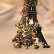 Free shipping Retro personality lovely Bohemia Turtle Pendant Necklace Jewelry