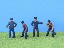 Painted loco crew in OO gauge from P & D Marsh - PDZ19 - new - free post