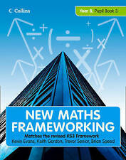 New Maths Frameworking - Year 8 Pupil Book 3 (Levels 6-7) by Brian Speed,...
