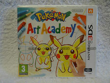 Pokemon Art Academy - 3DS Game - * Brand New, Sealed * - UK Pal