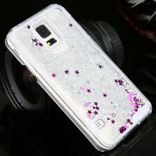 Luxury Glitter Star Liquid Back Phone Case Cover for Samsung Galaxy Phones