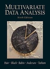 Multivariate Data Analysis by Rolph E. Anderson, Ronald L. Tatham and William...