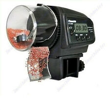 Adjustable LCD Automatic Aquarium Tank Pond Fish Food Feeder Timer