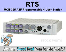 RTS MCE-325 A4F Programmable 4 User Station F01U146629 New in Box