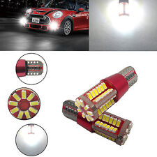 2 X T15 194 168 4014 57-SMD 5W Led Canbus Bulbs Back Up Reverse Light White YMV