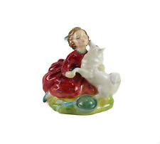 "Royal Doulton Hand Painted Porcelain Figurine ""Home Again"" HN2167"