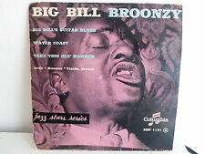 BIG BILL BROONZY Big hill's guitar blues ESDF 1121