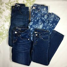 Girl's jeans Mixed lot of 4 pairs. Size 6/6x. Cat & Jack, Cherokee, Faded Glory
