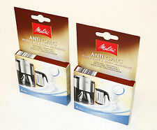 2 Packs  Melitta Anti Calc Descaler for Kettles/Coffee Machines, 4 X 12g,6545475
