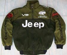 NEU Jeep GRAND CHEROKEE V8 Fan - Jacke olivgrün jacket veste jas giacca jakka