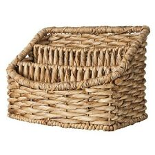 Smith & Hawken Woven Tray Decorative Basket with 3 Compartments