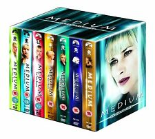 Medium Komplette Serie - Season 1+2+3+4+5+6+7 34er [DVD] NEU 5 Seasons Deutsch