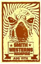 SMITH WESTERNS 2013 Gig POSTER Portland Oregon Concert