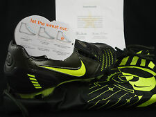 Nike Total 90 Laser II FG, Retail $190.00 Black Neon Sz 6.5, Total 90, 2008 DS