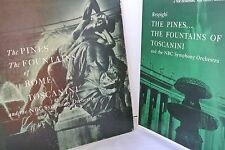 Respighi The Pines Fountains Of Rome Toscanini RCA LM 1768