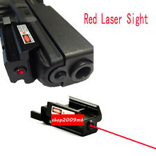 Red Dot Laser Sight Picatinny Weaver Rail Mount For Pistol Gun Compact hunt