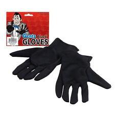 Short Black Gloves ~ Mens ~ Gents ~ Victorian ~ magician
