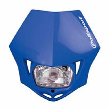 Polisport MMX Headlight YZ Blue Motorcycle Dirt Bike Dual Sport Enduro DOT