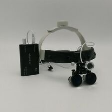 3.5X Headband Binocular Dental Surgical Loupes with 3W LED Headlight NEW