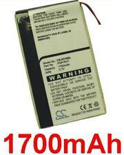 Batterie 1700mAh type DA2WB18D2 Pour iRiver H320