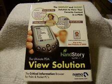 THE ULTIMATE PDA VIEW SOLUTION HANDSTORY SUITE 2.3 FOR PALM & POCKET PC'S NEW