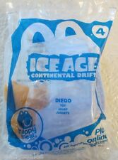 McDonald's Happy Meal Ice Age Continental Drift Diego #4 2012