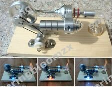 US-Stock Hot Air Stirling Engine Electric Generator Power Machine Education